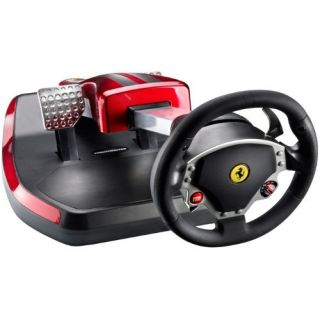 Product image of Guillemot/Hercules Thrustmaster Ferrari Wireless GT Cockpit 430 Scuderia Edition Racing Wheel for PS3