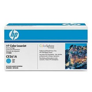 Product image of HP 648A Cyan Toner Cartridge (Yield 11,000 Pages) for LaserJet Enterprise CP4025, CP4525