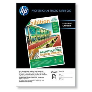 Product image of HP Professional (A4) Glossy Laser Photo Paper (100 Sheets) 200gsm (White)
