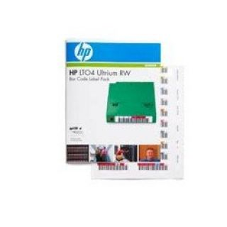 Product image of HP LTO-4 Ultrium RW Bar Code Labels (100 pack)