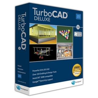 Product image of IMSI TURBOCAD 14 - DELUXE DVD IN