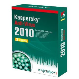 Product image of Kaspersky Anti-Virus 2010 1 Year 3 User (DVD)