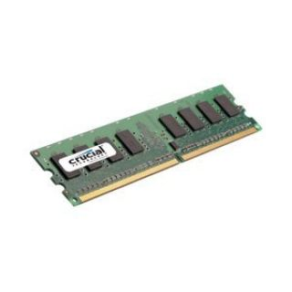 Product image of Crucial 2048MB PC2-5300 667MHz DDR2 240-pin DIMM CL5 Unbuffered Non ECC Memory Module