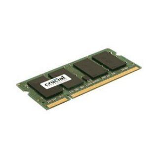 Product image of Crucial 2048MB PC2-5300 667MHz DDR2 200-pin SO-DIMM CL5 Unbuffered Non ECC Memory Module