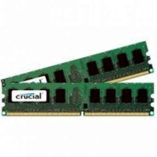 Product image of Crucial 4GB (2x2GB) Memory Kit PC2-6400 800MHz DDR2 240-pin DIMM CL6 Unbuffered Non ECC