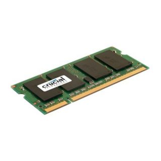 Product image of Crucial 4096MB PC2-5300 667MHz DDR2 200-pin SO-DIMM CL5 Unbuffered Non ECC Memory Module