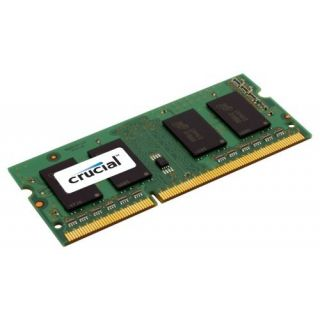 Product image of Crucial 2048MB Memory Module PC3-8500 1066MHz DDR3 Unbuffered Non-ECC CL7 204-pin SO-DIMM