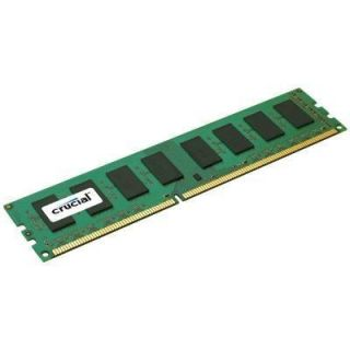 Product image of Crucial 2GB Memory Module PC3-8500 1066MHz DDR3 Unbuffered ECC CL7 240-pin DIMM