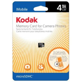 Product image of Lexar Kodak 4GB microSD Card - No Adaptor