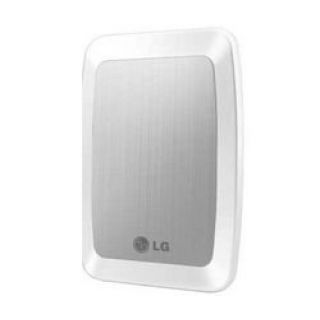 Product image of LG HXD2U32PW XD2 320GB (5400rpm) USB 2.0 8MB Hard Drive White (External)