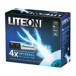 Product image of LiteOn iHOS104 4X Blu-Ray ROM SATA Drive (Internal) with a Black Bezel (Retail)