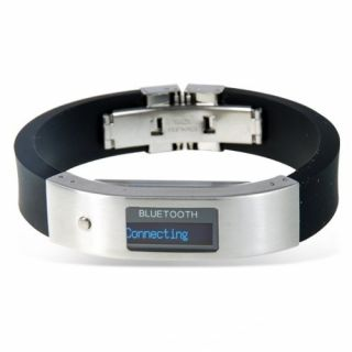 Product image of LM Technologies Vibrating Bracelet with OLED Screen for Caller ID (Sport Edition)