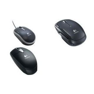 Product image of OEM - Logitech NX80 Wireless Laser Mouse for Notebooks (Black)