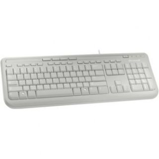 Product image of Microsoft Wired Keyboard 600 (White)