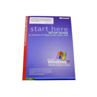 Product image of Microsoft WindowsXP Media Center Edition 2005 + Remote Control Bundle (OEM Full Version)
