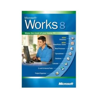 Product image of Microsoft Works For Windows 8 English (3 Pack)