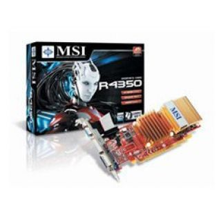 Product image of MSI R4350-MD512H Radeon HD 4350 Graphics Card 512MB PCi-E DVI HDMI VGA