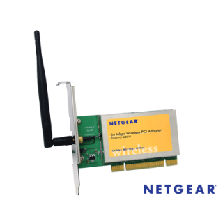 Product image of Netgear WG311 54Mbps Wireless 802.11g/b PCI ADAPTER w/ 128-bit WEP Security