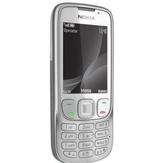 Product image of Nokia 6303i Classic Mobile Phone (Silver)