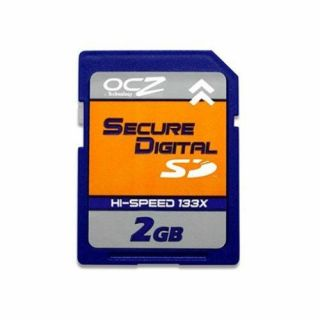 Product image of OCZ 2GB 150X Hi-Speed Secure Digital Flash Memory Card