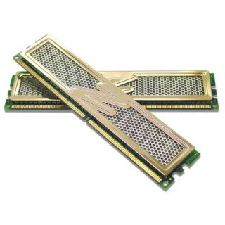 Product image of OCZ 4096MB Memory Kit Dual Channel PC2-8500 1066MHz DDR2 Unbuffered CL5 DIMM Gold Edition