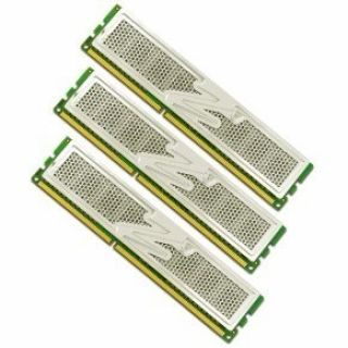 Product image of OCZ 6144MB Memory Kit (3x2048MB) PC3-12800 1600MHz DDR3 CL6 DIMM Platinum Low Voltage Triple Channel