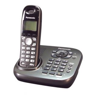 Product image of Panasonic KX-TG7341 Single DECT Cordless Telephone with Answering Machine