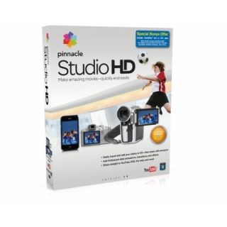 Product image of Pinnacle Systems Studio HD Version 14 Video Editing Software