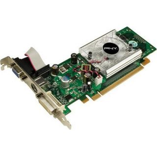 Product image of PNY NVIDIA GeForce 8400GS Low Profile Graphics Card 256MB PCI Express x16 Dual DVI/VGA/HDTV