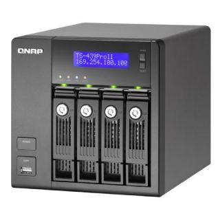 Product image of QNAP TS-439 Pro II Turbo Superior Performance NAS with iSCSI for Business