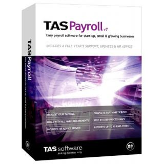 Product image of Sage TAS Payroll for Small and Medium Sized Businesses