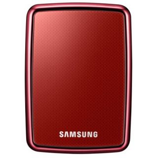Product image of Samsung S2 Portable 640GB USB External Hard Drive (Wine Red)