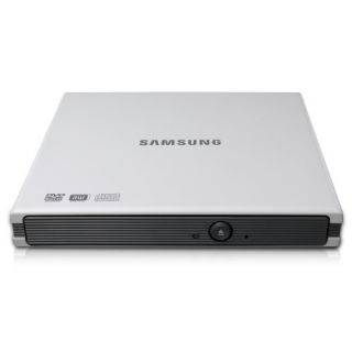 Product image of Samsung S084F 8x USB Slim External DVD±RW Drive (White)