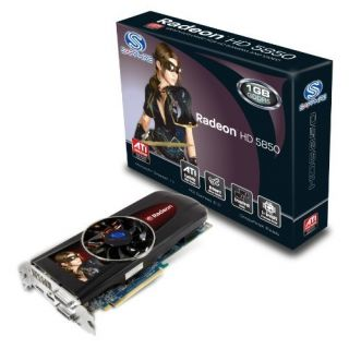 Product image of Sapphire Radeon HD 5850 1024MB PCI-E Display Port/Dual DVI-I/HDMI Graphics Card - RoHS