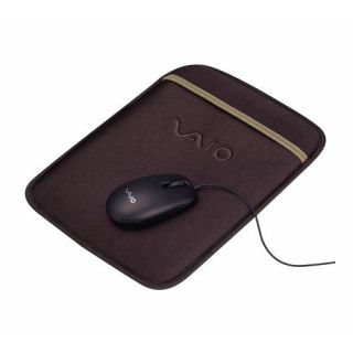 Product image of Sony VGP-AKW1 Carrying Case and USB Optical Mouse for W Series Notebooks (Brown)