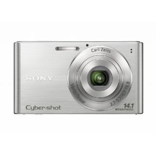 Product image of Sony Cyber-shot W320 (14.1MP) Digital Camera 4x Optical Zoom 2.7 inch LCD (Silver)