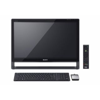 Product image of Sony Vaio VPC-L13S1E All-In-One-PC Core 2 Duo (E8400) 3.0GHz 8192MB 1000GB 24 inch MultiTouch TFT Blu-Ray Drive LAN WLAN BT Windows 7 Home Premium (GeForce GT 330M) (Silver)