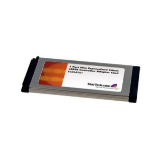 Product image of StarTech 1 Port Slim ExpressCard 34mm eSATA II Controller Adaptor Card