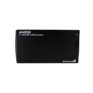 Product image of StarTech (2.5 inch) eSATA USB External Hard Drive Enclosure for SATA HDD (Black)