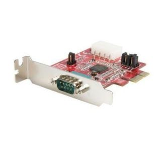 Product image of StarTech 1 Port Low Profile Native PCI Express Serial Card with 16950