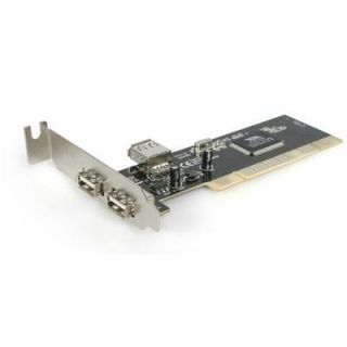 Product image of StarTech 3 Port PCI Low Profile High Speed USB 2.0 Adaptor Card