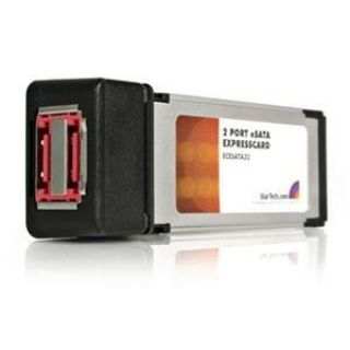 Product image of StarTech 2 -Port ExpressCard eSATA Controller Adaptor Card
