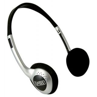 Product image of Sweex HM450 Lightweight Headphones Silver