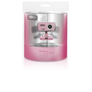 Product image of Sweex WC066 HD Webcam - Pink