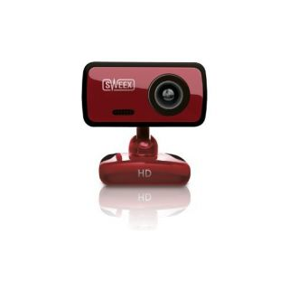 Product image of Sweex WC062 Sweex HD Webcam Red