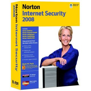 Product image of Symantec Norton Internet Security 2008 Upgrade (3 User)