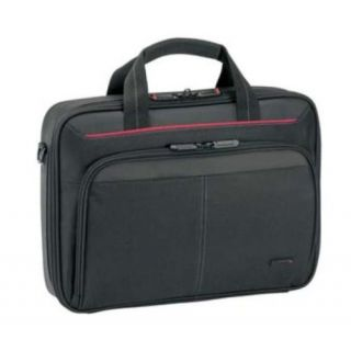 Product image of Targus Clamshell Black Nylon Laptop Case for 13.3 inch Notebooks