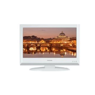 Product image of Toshiba Regza 22AV616 22 inch LCD Television (White)