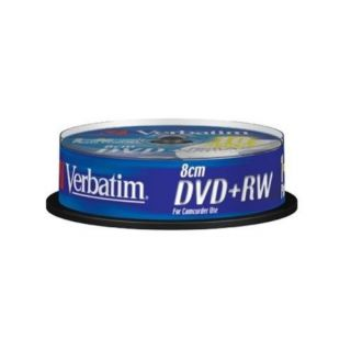 Product image of Verbatim DVD+RW 8cm 1.4GB 2x Inkjet Printable (10 Pack)