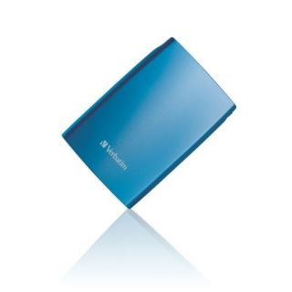 Product image of Verbatim Store 'n' Go (320GB) 2.5 inch Portable USB 2.0 Hard Drive (Blue)